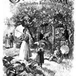 Rad-Rundfahrten für die Familie starteten in der Illustrierten Gartenlaube