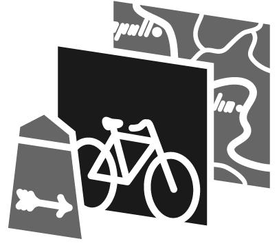 Radfahrerwissen, Logogestaltung: Tobias Zerger